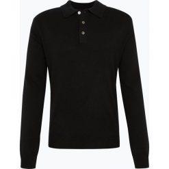 Andrew James - Sweter męski z czystego kaszmiru, czarny. Czarne swetry klasyczne męskie Andrew James, m, z kaszmiru. Za 599,95 zł.