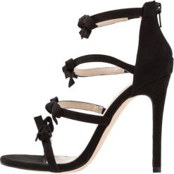 Sandały damskie: Miss Selfridge CHERUB Sandały na obcasie black