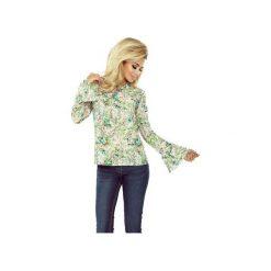 BLUZKA APRIL ROZKLOSZOWANE RĘKAWY ZIELONA. Zielone bluzki damskie marki Dressroad, l, z wiskozy, eleganckie. Za 75,60 zł.