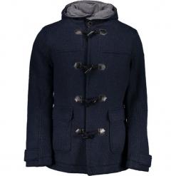 Płaszcz w kolorze granatowym. Niebieskie płaszcze na zamek męskie marki Guess, na zimę, m. W wyprzedaży za 749,95 zł.