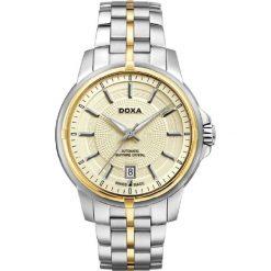 ZEGAREK DOXA Executive D152TCM. Żółte zegarki męskie marki DOXA, ze stali. Za 4799,00 zł.