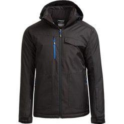 Kurtka narciarska męska KUMN604 - CZARNY - Outhorn. Czarne kurtki męskie pikowane Outhorn, na jesień, m, z materiału. W wyprzedaży za 209,99 zł.