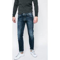 Pepe Jeans - Jeansy Spike. Niebieskie jeansy męskie slim Pepe Jeans. W wyprzedaży za 249,90 zł.