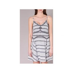Sukienki krótkie Rip Curl  SUNRAY DRS. Szare sukienki mini marki Rip Curl, l, z krótkim rękawem. Za 207,20 zł.