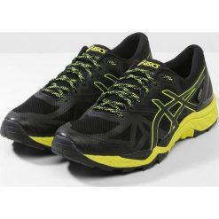 ASICS GEL FUJITRABUCO 6 GTX Obuwie do biegania Szlak black/safety yellow/black. Czarne buty do biegania męskie Asics, z materiału. W wyprzedaży za 495,20 zł.