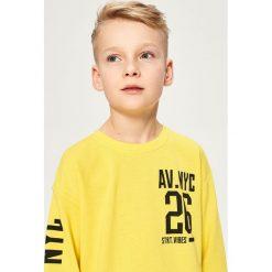 Bluza z nadrukiem - Żółty. Żółte bluzy chłopięce rozpinane marki Reserved, z nadrukiem. Za 39,99 zł.