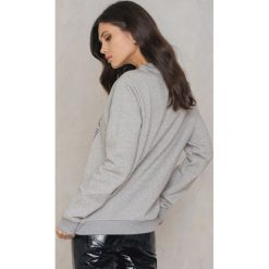 Bluzy rozpinane damskie: BACK Bluza Uni - Grey