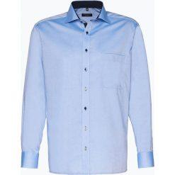 Eterna Comfort Fit - Koszula męska niewymagająca prasowania, niebieski. Niebieskie koszule męskie non-iron Eterna Comfort Fit, m, z bawełny. Za 249,95 zł.