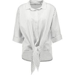 Bluzki asymetryczne: Mustang KNOTTED  Bluzka white/grey