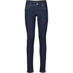 """Dżinsy ze stretchem SKINNY bonprix ciemnoniebieski """"stone"""". Niebieskie boyfriendy damskie bonprix, z jeansu. Za 99,99 zł."""