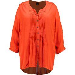 Bluzki asymetryczne: ADIA Bluzka orange rus