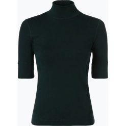 Marc Cain Sports - T-shirt damski, zielony. Zielone t-shirty damskie Marc Cain Sports, z dżerseju, ze stójką. Za 249,95 zł.