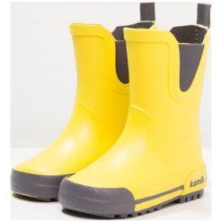 Buty zimowe damskie: Kamik RAINPLAY UKUT Kalosze yellow
