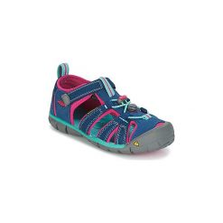 Sandały sportowe Dziecko  Keen  SEACAMP II CNX. Czerwone buty sportowe chłopięce marki Born2be, z materiału, z otwartym noskiem, na zamek. Za 181,30 zł.