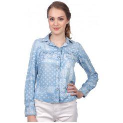 Pepe Jeans Koszula Damska Freedom S Niebieski. Niebieskie koszule jeansowe damskie marki Pepe Jeans, s. W wyprzedaży za 242,00 zł.
