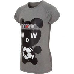 Bluzki dziewczęce z nadrukiem: Koszulka sportowa dla małych chłopców JTSM301 - chłodny jasny szary