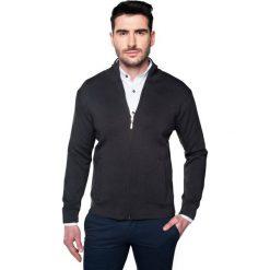 Sweter merle stójka grafit. Szare golfy męskie marki Recman, m, z długim rękawem. Za 219,00 zł.