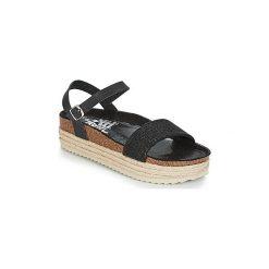 Sandały Xti  DARIEV. Czarne sandały damskie marki Xti. Za 175,20 zł.
