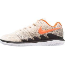 Nike Performance AIR ZOOM VAPOR X HC Obuwie multicourt light cream/bleached aqua/black. Białe buty do tenisa męskie Nike Performance, z materiału. W wyprzedaży za 471,20 zł.