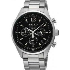 Zegarki męskie: Zegarek męski Seiko Chronograph SRW035P1