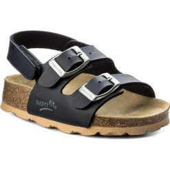 Sandały męskie skórzane: Sandały SUPERFIT – 8-00124-80 M Ocean