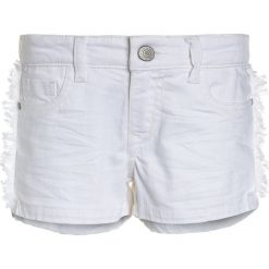 Cars Jeans KIDS RISSA  Szorty jeansowe white. Białe spodenki chłopięce Cars Jeans, z bawełny. Za 129,00 zł.