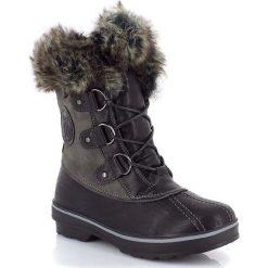 """Buty zimowe damskie: Kozaki """"Chiara"""" w kolorze czarnym"""