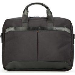 Torba na laptopa 87-3P-105-1. Czarne torby na laptopa marki Wittchen, w paski. Za 359,00 zł.
