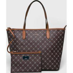 Joop! - Torebka. Brązowe torebki klasyczne damskie JOOP!, z materiału, duże. W wyprzedaży za 539,90 zł.