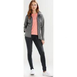 The North Face MEZZALUNA Kurtka z polaru grey. Różowe kurtki sportowe damskie marki The North Face, m, z nadrukiem, z bawełny. Za 299,00 zł.