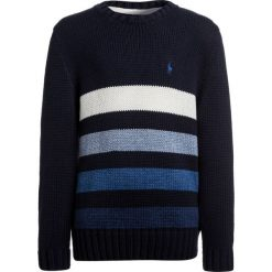 Swetry dziewczęce: Polo Ralph Lauren STRIPE Sweter hunter navy/white