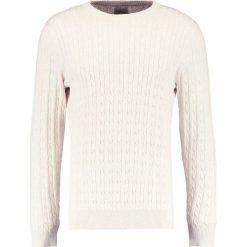 Swetry klasyczne męskie: Selected Homme SHHCLAYTON CREW NECK Sweter sand