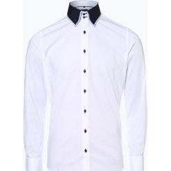 Olymp Level Five - Koszula męska łatwa w prasowaniu, czarny. Czarne koszule męskie na spinki marki Cropp, l. Za 199,95 zł.
