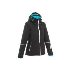 Kurtka narciarska All-Mountain AM580 damska. Czarne kurtki męskie marki WED'ZE, xl, z materiału. Za 349,99 zł.