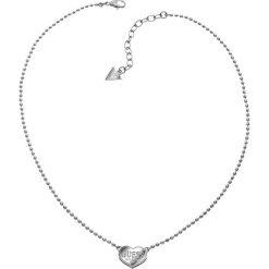 Naszyjniki damskie: Naszyjnik w kolorze srebrnym z zawieszką – (D)45 cm