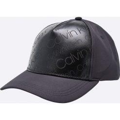 Calvin Klein - Czapka. Szare czapki z daszkiem damskie marki Calvin Klein, z poliesteru. Za 159,90 zł.