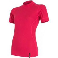 Sensor Koszulka Double Face T-Shirt Magenta M. Czerwone bluzki sportowe damskie Sensor, s, z krótkim rękawem. Za 95,00 zł.