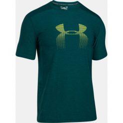 Under Armour Koszulka męska Raid Graphic zielono-żółta r. M (1298816-919). Zielone koszulki sportowe męskie Under Armour, m. Za 99,00 zł.