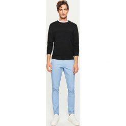 Rurki męskie: Spodnie chino slim fit - Niebieski