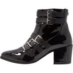 Steve Madden FIBBIE Ankle boot black. Czarne botki damskie skórzane marki Steve Madden. Za 629,00 zł.