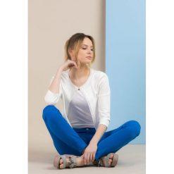 Bolerka i narzutki damskie: Krótki sweterek-bolerko