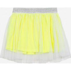 Blukids - Spódnica dziecięca 98-128 cm. Fioletowe minispódniczki marki OLAIAN, z elastanu, sportowe. W wyprzedaży za 49,90 zł.