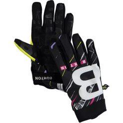 """Rękawiczki męskie: Rękawiczki """"Spectre"""" w kolorze czarnym ze wzorem"""