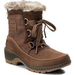 Śniegowce SOREL - Torino Premium NL2777 Tobacco/Delta 256. Brązowe buty zimowe damskie Sorel, z gumy, na niskim obcasie. W wyprzedaży za 409,00 zł.