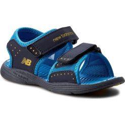 Sandały męskie skórzane: Sandały NEW BALANCE – K2004NBL  Granatowy