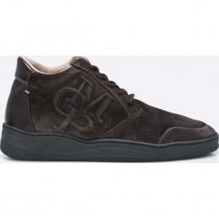 Marc O'Polo - Buty. Czarne buty skate męskie Marc O'Polo, z materiału, na sznurówki. W wyprzedaży za 359,90 zł.