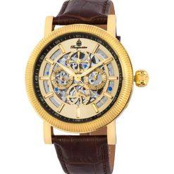 """Zegarki męskie: Zegarek """"Omaha"""" w kolorze brązowo-złotym"""