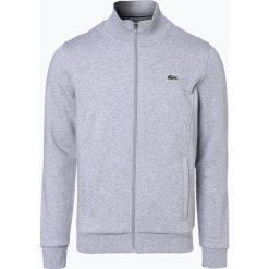 Lacoste - Męska bluza rozpinana, szary. Szare bluzy męskie rozpinane marki Lacoste, z bawełny. Za 449,95 zł.