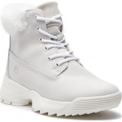 Trapery TAMARIS - 1-25711-31 White 100. Białe buty zimowe damskie Tamaris, z materiału. Za 349,90 zł.