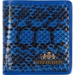 Portfel 19-1-065-NN. Czarne portfele damskie Wittchen. Za 119,20 zł.